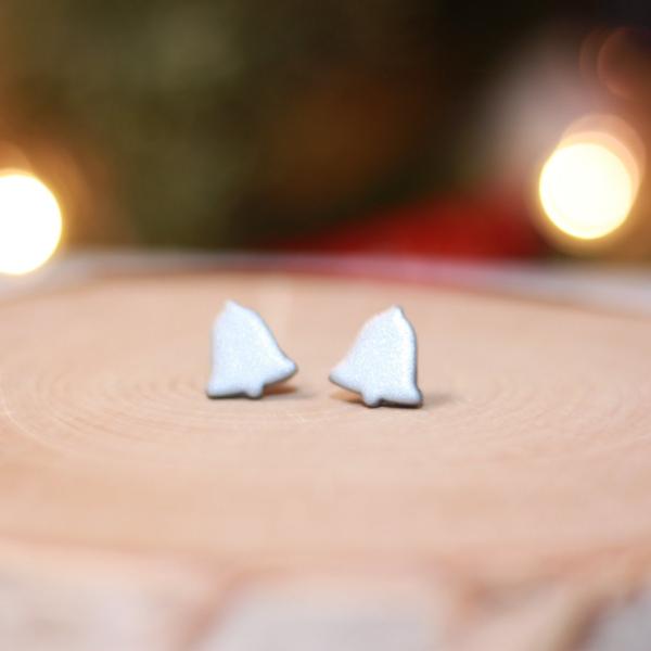 christmas bell earrings