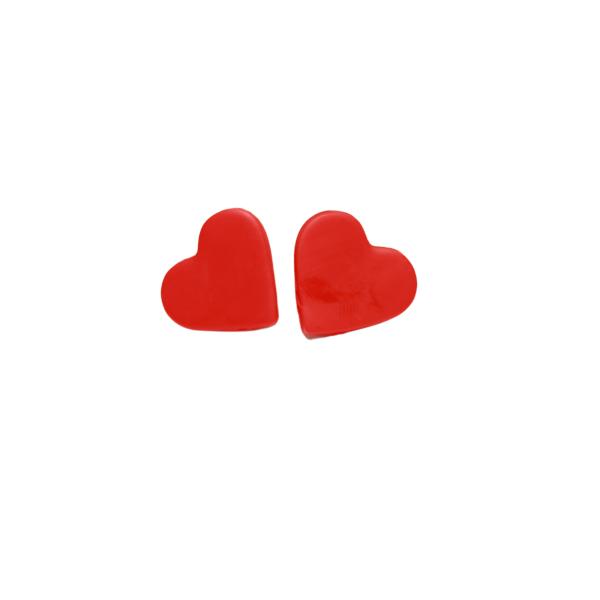 heart love valentine earrings