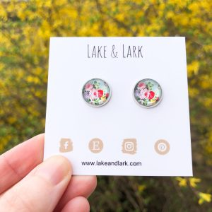 summer bouquet stud earrings