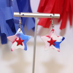 Miss Independence Star Earrings